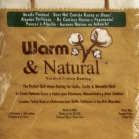 Warm & Natural Cotton Batting King Size