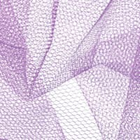 Nylon Net Pansy Purple
