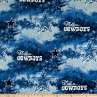 NFL Fleece Dallas Cowboys Blue/White