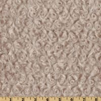 Shannon Minky Luxe Cuddle Rose Latte