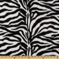 WinterFleece Black/White Zebra