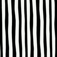 Celebrate Seuss! Squiggle Stripe Black/White