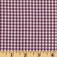 Kaufman 1/8'' Carolina Gingham Purple