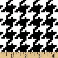 Michael Miller Houndstooth Black