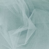 54' Apparel Grade Tulle Williamsburg Blue