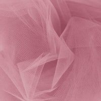 108'' Apparel Grade Tulle Dusty Rose