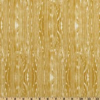 Aviary 2 Woodgrain Vintage Yellow