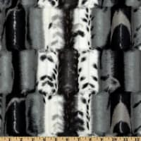 Shannon Minky Luxe Cuddle Fancy Leopard Black/Gray