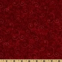 Moda Marble Swirls (9908-30) Turkey Red