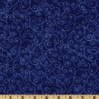 Moda Marble Swirls (9908-24) Royal Blue