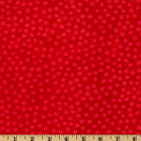 Moda Marble Dots (#3405-32) Red