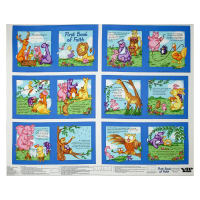 First Book of Faith Soft Book Panel White/Multi
