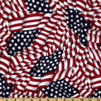 Patriotic Flags Red/White/Blue