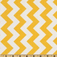 Riley Blake Chevron Medium Yellow