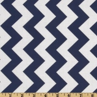 Riley Blake Chevron Medium Navy