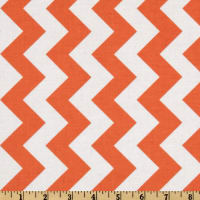 Riley Blake Chevron Medium Orange