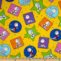 Peanuts-Project Linus Linus Patches Yellow
