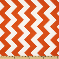 Riley Blake Chevron Large Orange