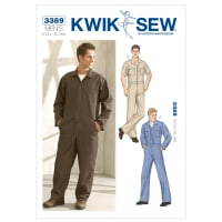 Kwik Sew Men's Coveralls Pattern