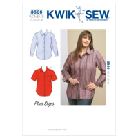 Kwik Sew Shirts Plus Size Pattern