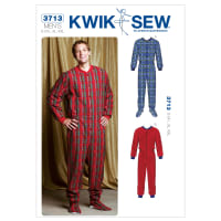 Kwik Sew All In One Men's Pajamas Pattern