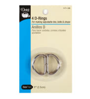 D-Rings Nickel 1''