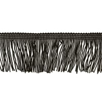 "Expo 2"" Chainette Fringe Black"