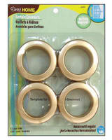 Curtain Grommets 8 Pack Matte Gold 1 - 9/16''