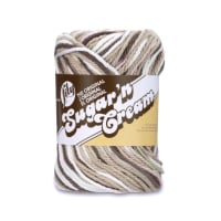 Lily Sugar 'n Cream Yarn Ombre (02014) Chocolate Ombre