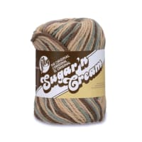 Lily Sugar 'n Cream Yarn Ombre (02046) Earth Ombre