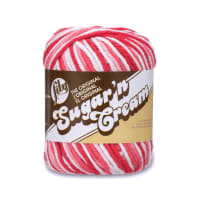 Lily Sugar 'n Cream Yarn Ombre (02416) Azalea