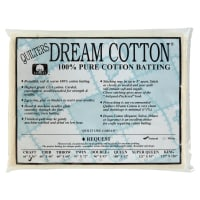 Quilters Dream Natural Cotton Request Batting (46'' x 36'') Craft