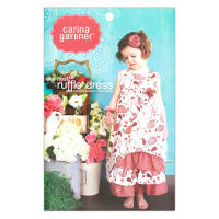 Carina Gardner Love Nest Ruffle Girls Dress Pattern
