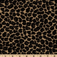 Chenille Jacquard Spots Taupe