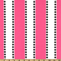 Premier Prints LuLu Stripe Candy Pink/Black