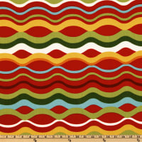 Richloom Indoor/Outdoor Variations Stripe Beachside