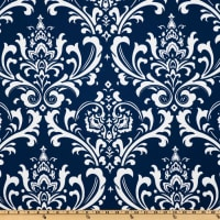 Premier Prints Indoor/Outdoor Ozbourne Deep Blue