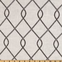 Duralee Home Embroidered Rico Grey