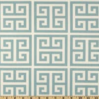 Premier Prints Towers Village Blue/Natural