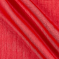 Two Tone Chiffon Red