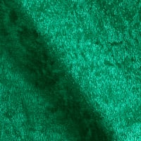 Stretch Panne Velvet Velour Flag Green