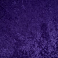 Stretch Panne Velvet Velour Purple