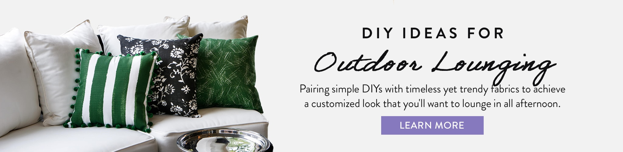 DIYs For Outdoor Lounging