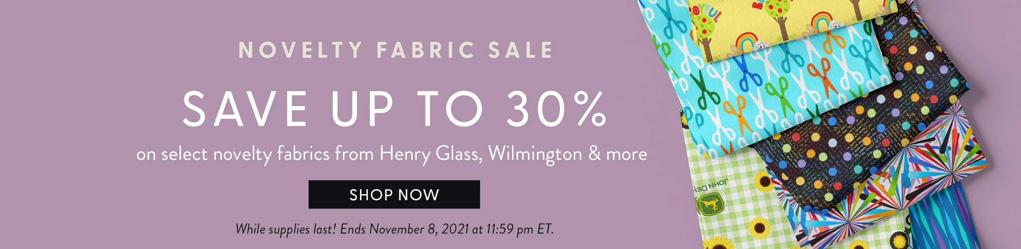 Novelty Fabric sale. Save up to thirty percent on novelty fabrics from Henry Glass, Wilmington and more. Shop Now. While supp