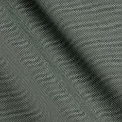 9.3 oz. Canvas Duck Steel Gray Fabric