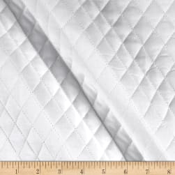 Double Sided Quilted Muslin White Fabric