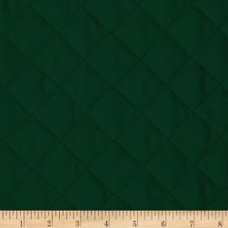 Double Sided Quilted Broadcloth Forest Green Fabric