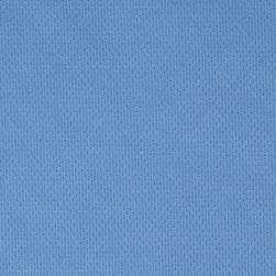 Athletic Mesh Knit Light Blue Fabric