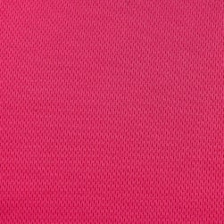 Athletic Mesh Knit Fuschia Fabric