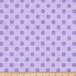 Riley Blake Small Dots Tone on Tone Lavendar